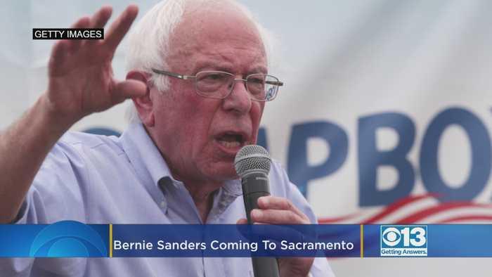 Bernie Sanders Is Coming To Sacramento Thursday
