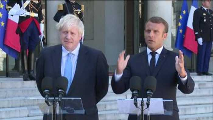 Macron to Johnson: No new Brexit deal in next 30 days