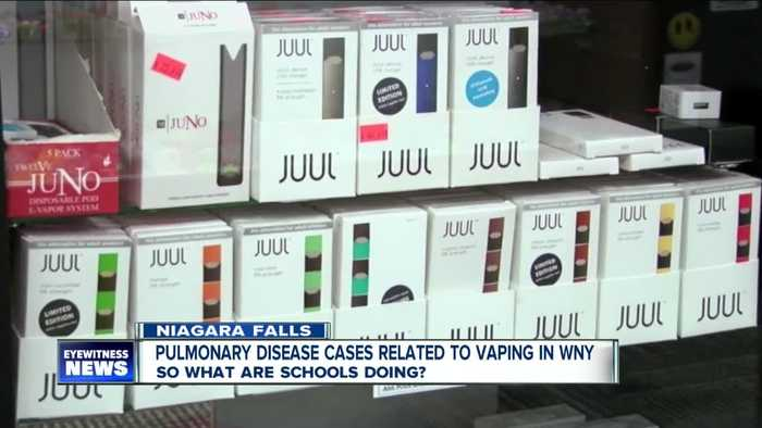 Majority of lung disease cases related to vaping in New York are in Western New York
