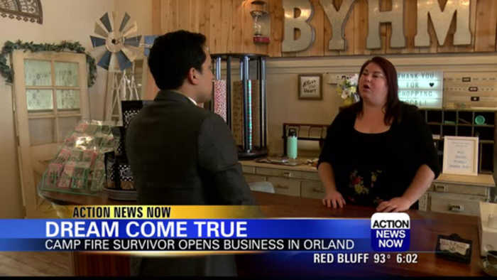 Camp Fire Survivor Opens Business in Orland