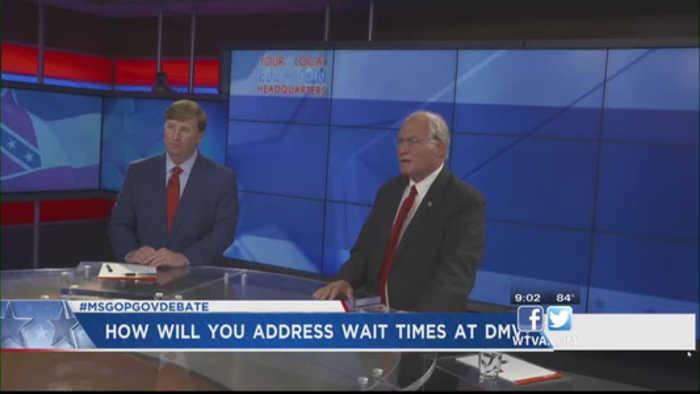 Reeves and Waller talk change in GOP runoff debate