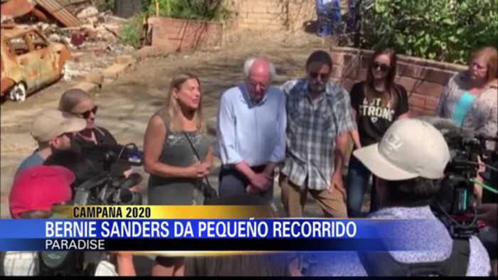 Bernie Sanders recorre Paradise