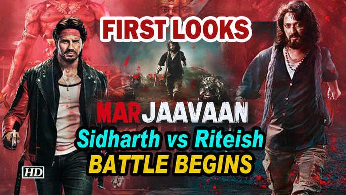 Marjaavaan FIRST LOOKS | Sidharth vs Riteish | BATTLE Begins