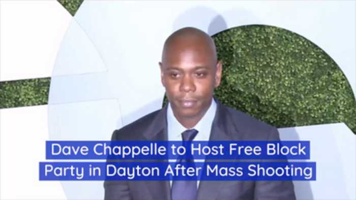Dave Chappelle Tries To Raise Spirits In Ohio