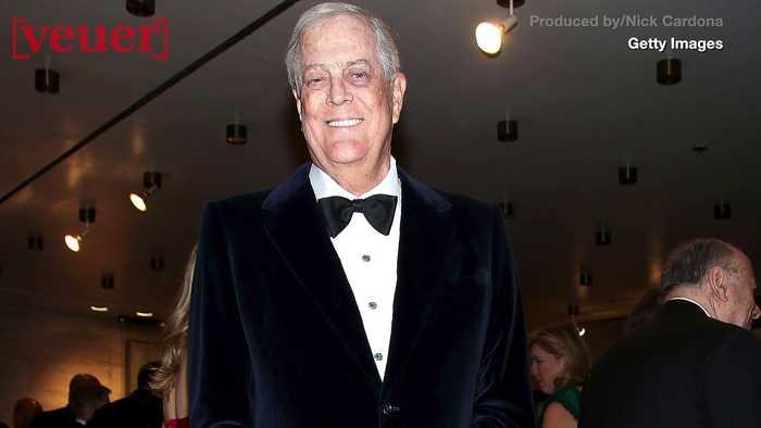 Billionaire Political Activist and Republican Party Mega Donor David Koch Dies