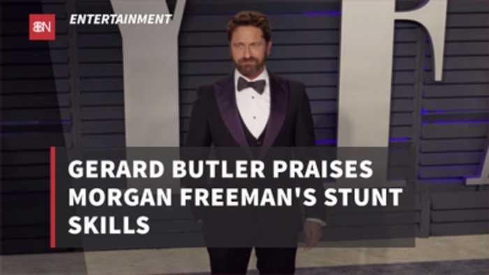 Morgan Freeman Is A Good Stuntman