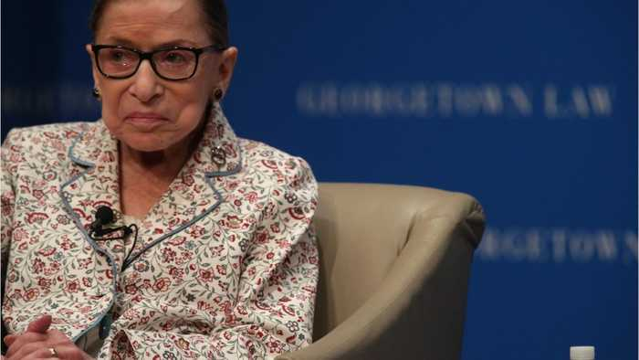 U.S. Justice Ginsburg Treated For Tumors