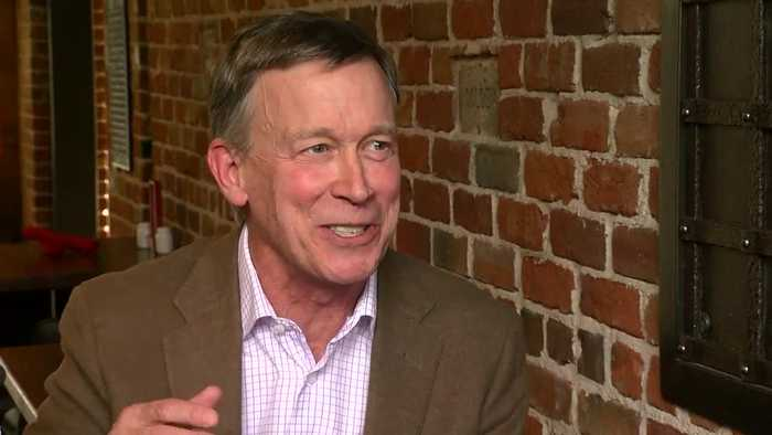 Former Gov. John Hickenlooper holds Q&A after announcing run for Senate