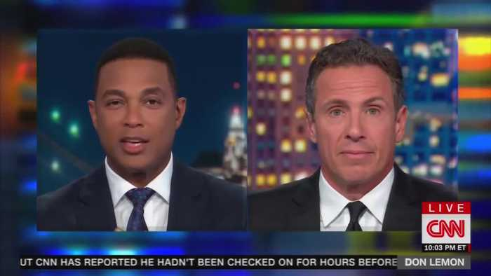 """Chris Cuomo and Don Lemon accept """"deep state"""" theory"""