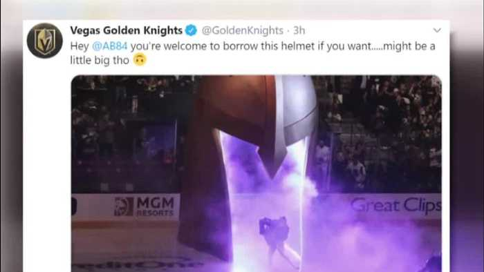 Golden Knights have helmet solution