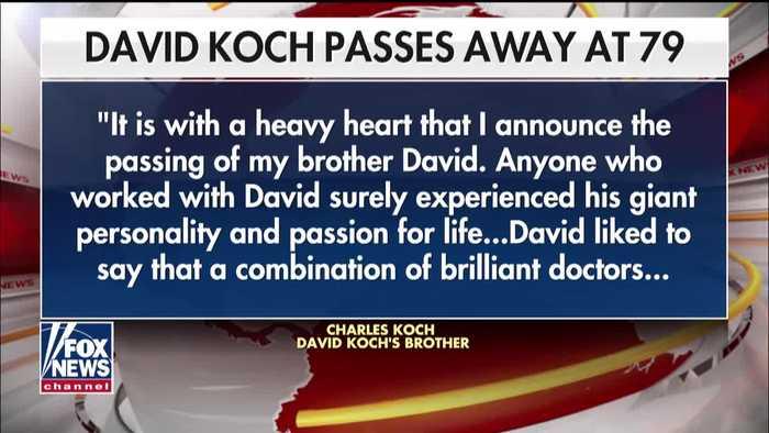 Billionaire Republican donor David Koch dead at 79
