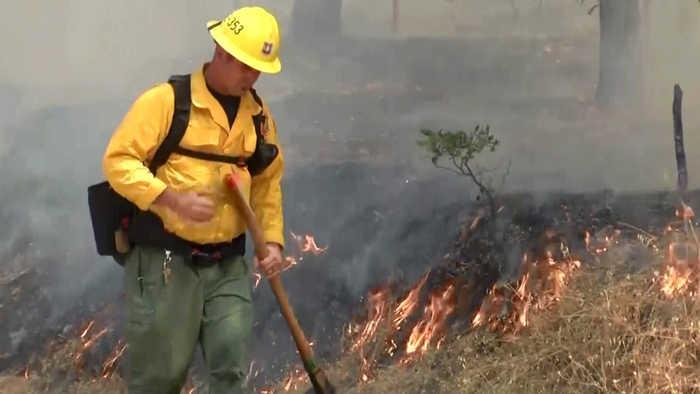 Crews Gain Ground in Shasta County Firefight