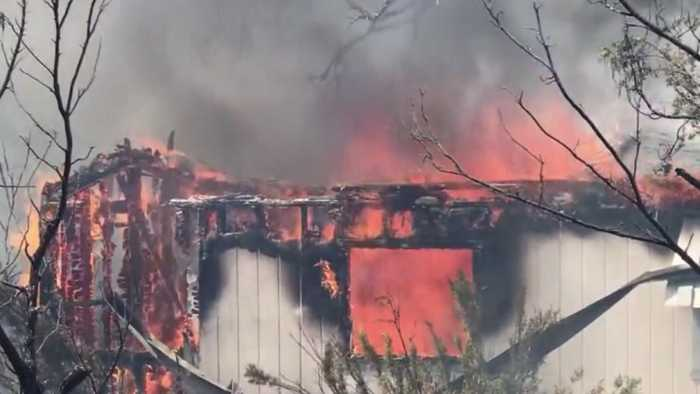 Mountain Fire Forces Evacuations In Shasta County