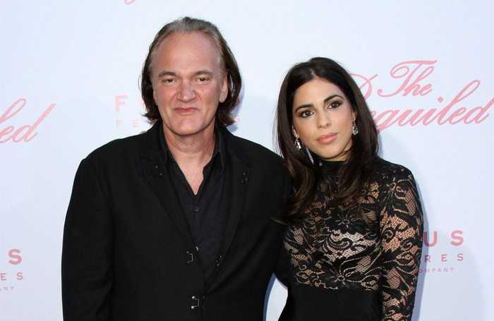 Quentin Tarantino is set to be a dad