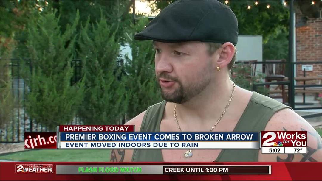 Trey Morrison to fight in Broken Arrow tonight in Showtime's boxing series