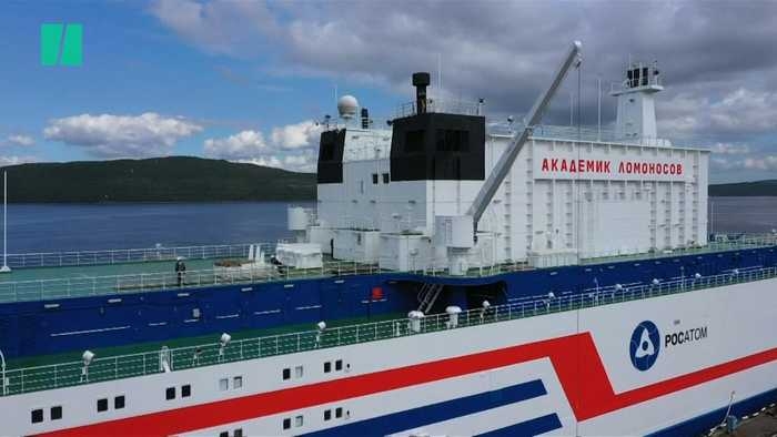 Russia's Floating Nuclear Power Plant Ready For Northern Sea Route