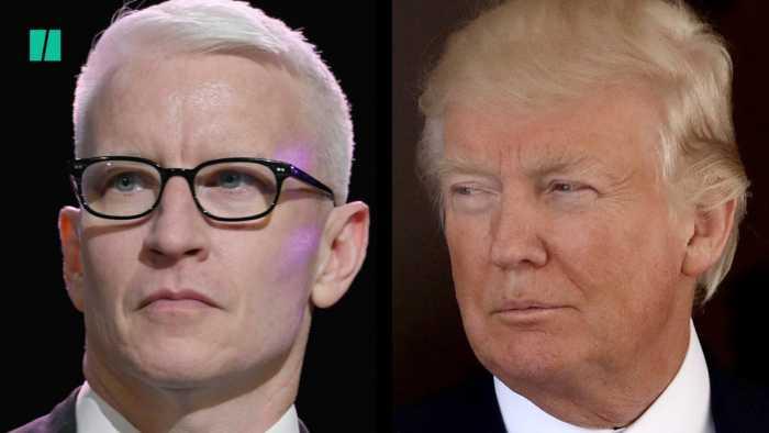 Anderson Cooper vs. Donald Trump