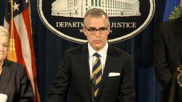 Andrew McCabe Reportedly Joining CNN As Contributor