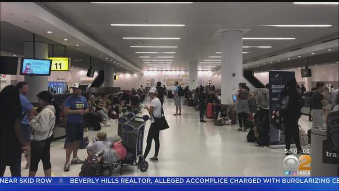 Delta Delays LAX-Bound Flight By 18 Hours
