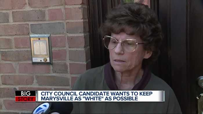 Candidate: Marysville should be as white 'as possible'