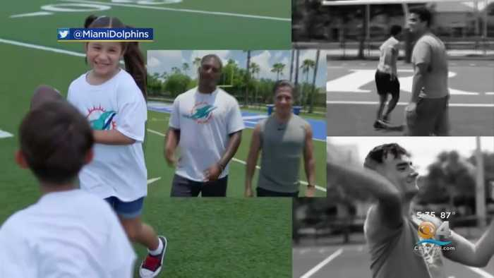 Dolphins Partner With Miami-Dade Schools On New Program That Promotes Good Old Fahioned Values