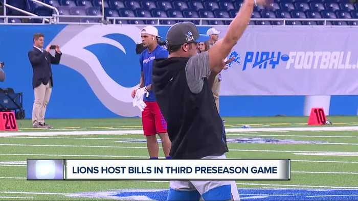 Lions to host Bills in third preseason game
