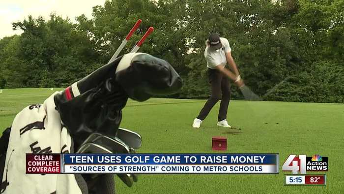 Birdies from Blue Valley teen golfer raise money for suicide prevention