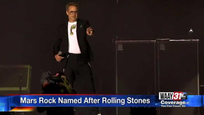 Mars Rock Named After Rolling Stones