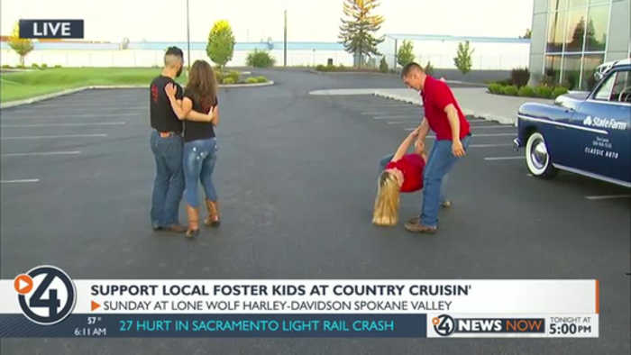 Help local children at need at the Country Cruisin' Music Festival and Classic Car Show