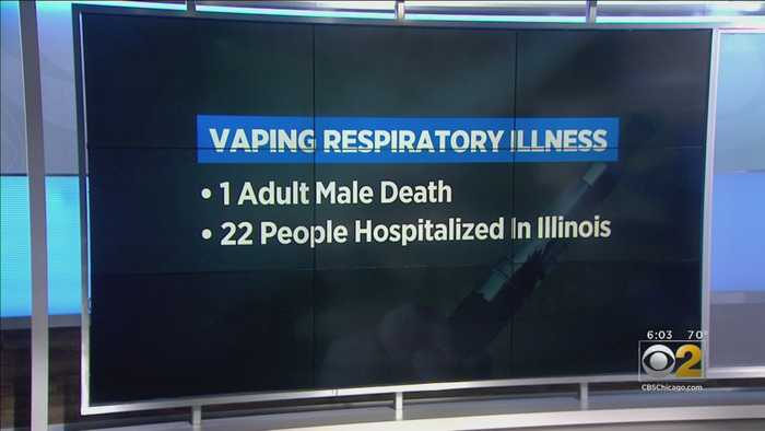 Illinois Man Is Dead After Respiratory Illness Connected To Vaping