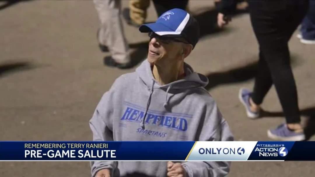 Hempfield Area High School emotional tribute to superfan Terry Ranieri
