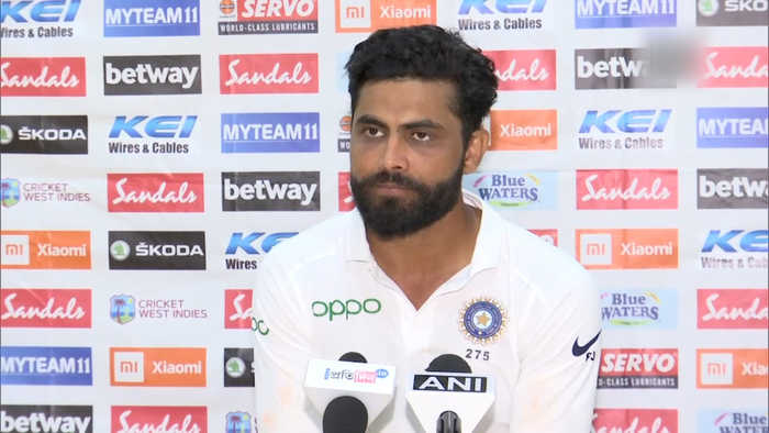 India vs West Indies | Always want to give my best: Ravindra Jadeja