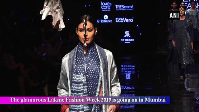 Lakme Fashion Week 2019 Mrunal Thakur, Sumeet Vyas rocked the ramp