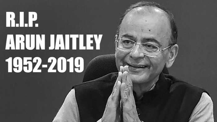 RIP Arun Jaitley: Former finance minister and BJP stalwart dies at 66