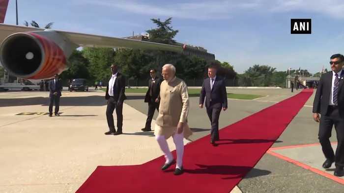 Prime Minister Narendra Modi leaves for UAE