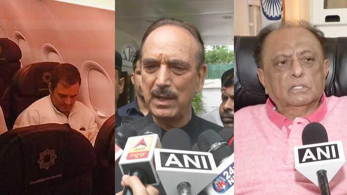Rahul Gandhi along with opposition delegation sent back from Srinagar