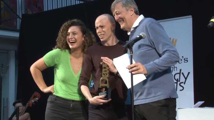 Edinburgh Fringe: Jordan Brookes wins comedy award