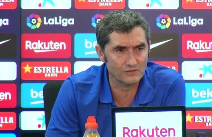 We will not force Messi if he is not at 100% - Barca coach Valverde