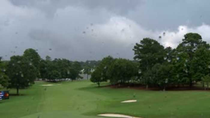 Lightning injures several at PGA event