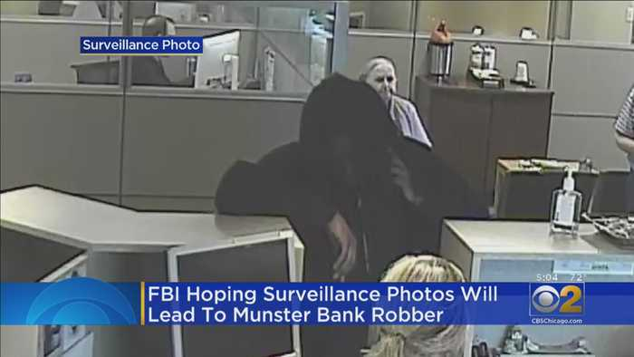 Search On For Munster, Ind. Bank Robber