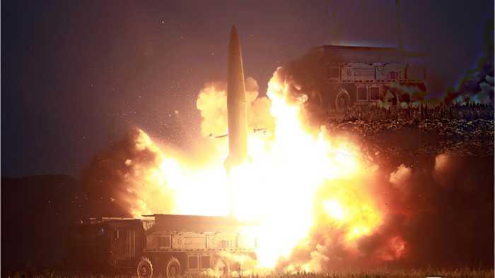 North Koreans Test 'Super-Large Rocket'