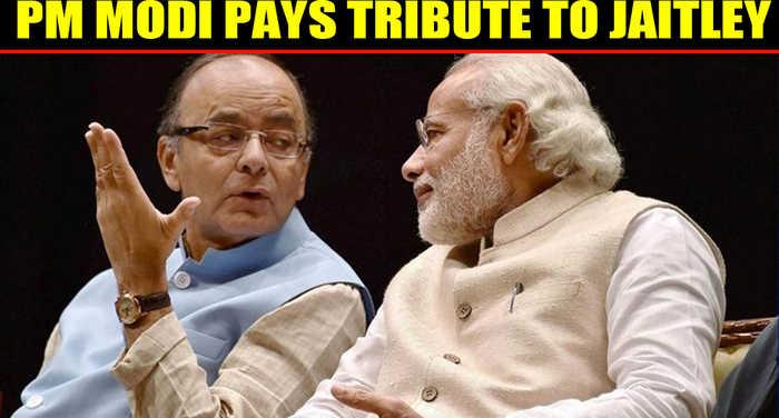 PM Modi pays emotional tribute to Arun Jaitley in Bahrain
