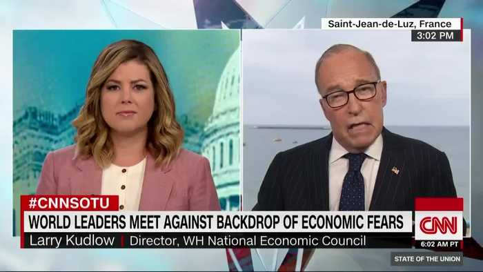 Larry Kudlow clarifies the president's remarks
