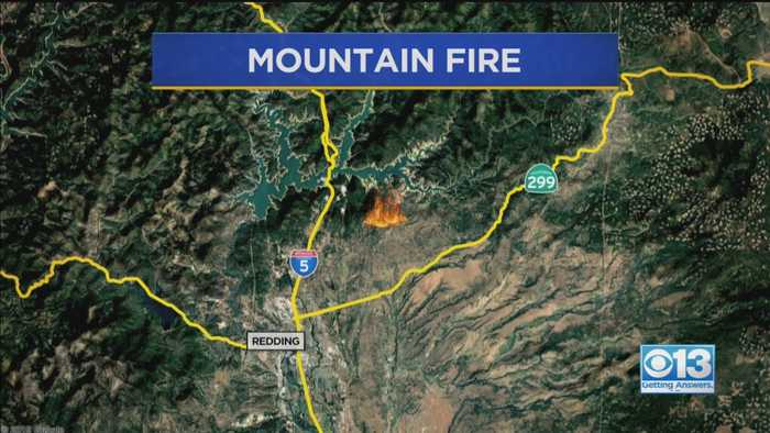 All Evacuations Lifted In Mountain Fire