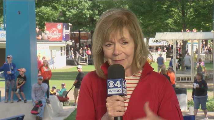 Sen. Tina Smith Joins Esme Murphy Live At The MN State Fair