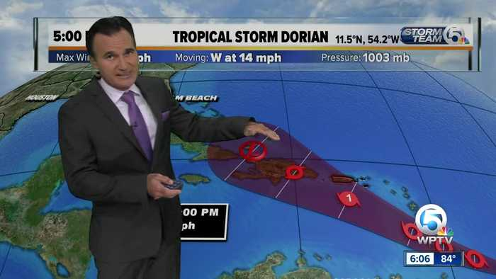 Tracking the Tropics 8/25/19 - 6pm