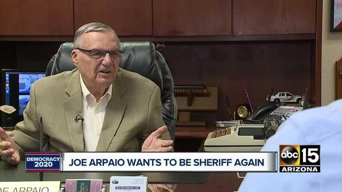 Former Maricopa County Sheriff Joe Arpaio running for Sheriff