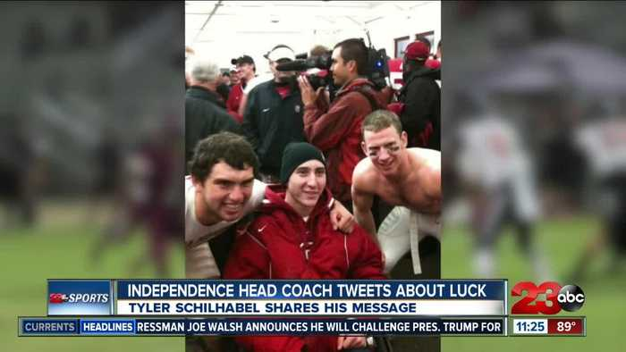 Independence High School coach tweets after Andrew Luck retirement