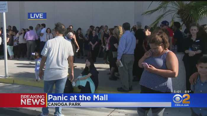 Fear, Panic At Westfield Mall Following Erroneous Reports Of Gunfire