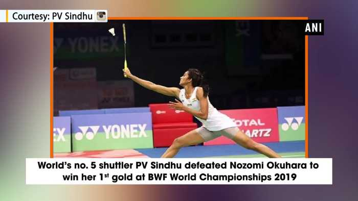 PV Sindhu creates history becomes first Indian to win BWF World Championship